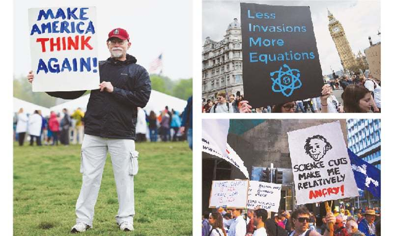 NYC joins cities around the world marching to defend science
