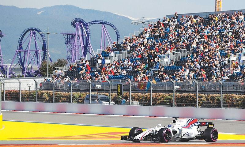 Ferrari's Vettel takes pole position at 2017 F1 Russian Grand Prix