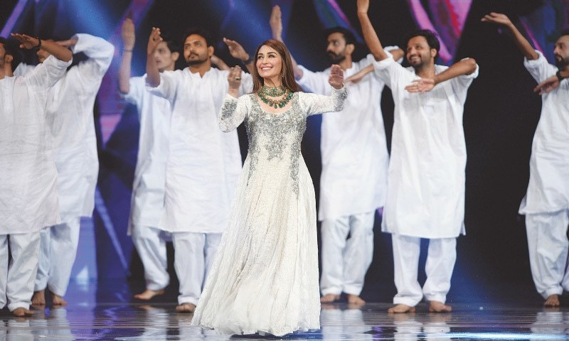 Reema performs at the LSAs
