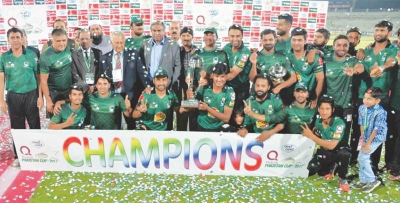 Hafeez, Sami inspire Federal Areas to Pakistan Cup glory