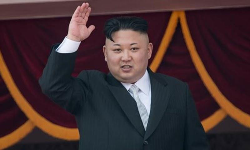 کم جونگ ان—فائل فوٹو/ اے ایف پی