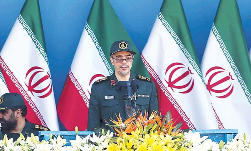 Maj Gen Mohammad Baqeri