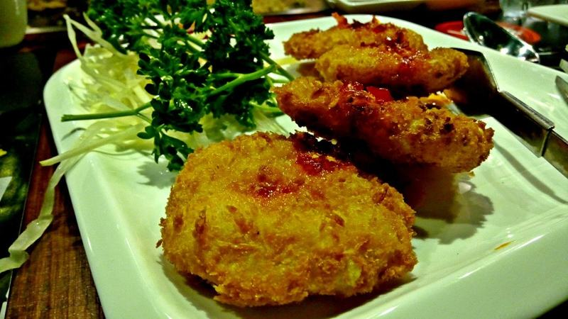 These prawn cakes were some of the best we've ever tried!