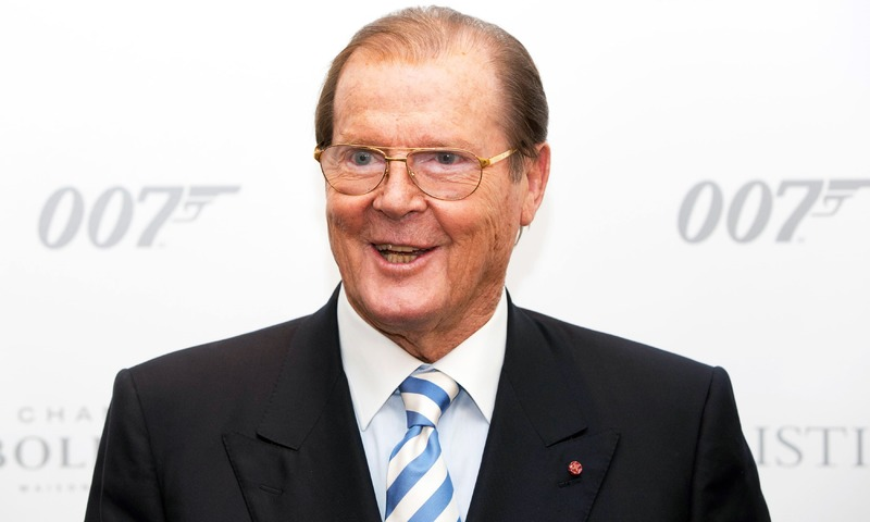 684193e48b2 Actor Sir Roger Moore attends the 50 Years of James Bond Auction at  Christies in London