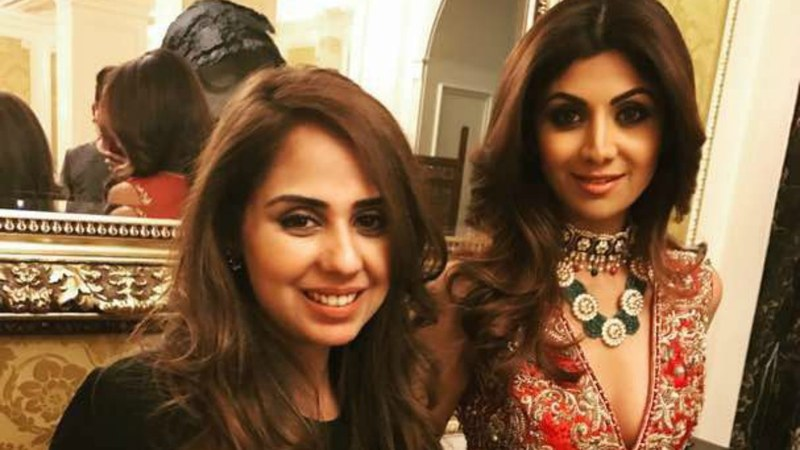 Saira Rizwan with Shilpa Shetty