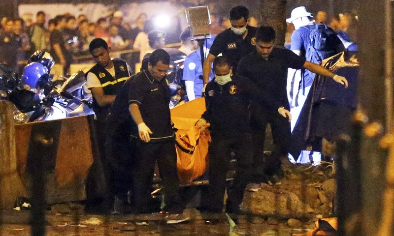 IS-linked Terrorist Attack in Jakarta's Kampung Melayu Bus Station