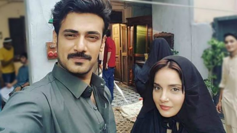 Zahid Ahmed shared a picture on Instagram hinting a new serial