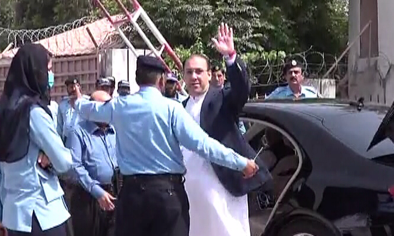Nawaz Sharif son appears before Panama papers probe panel
