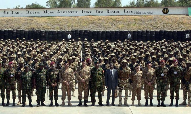 Ssg Commandos Wallpaper: Nigerian Special Forces Team Completes Counter-terrorism