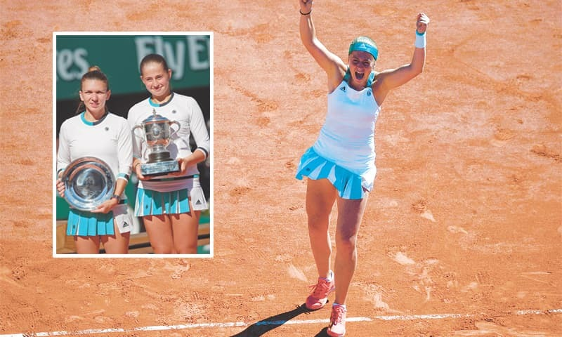 Unseeded Ostapenko rallies to win French Open