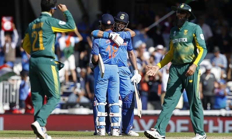 Champions Trophy: Ruthless India cruise into semi-finals