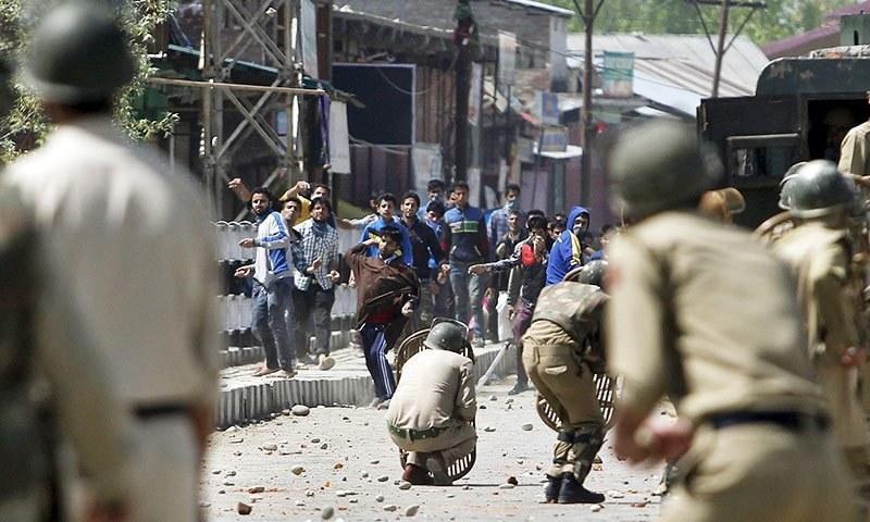 LeT leader, 2 civilians among 14 killed in Kashmir unrest