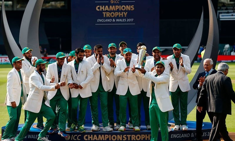 پاکستانی ٹیم نے ٹورنامنٹ میں شاندار کھیل کا مظاہرہ کیا—فوٹو:اے ایف پی