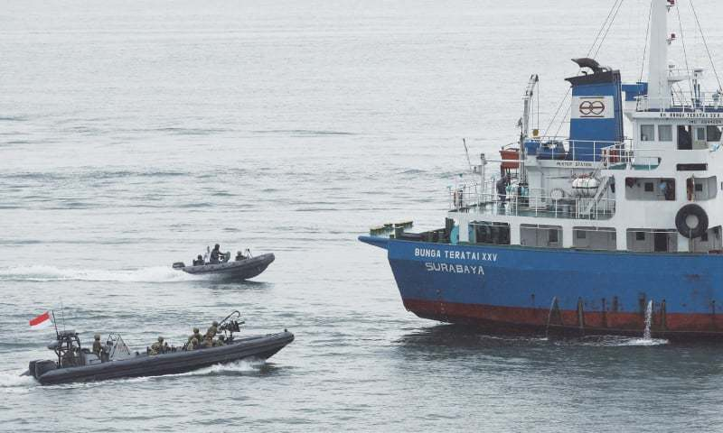 Indonesia, Malaysia, Philippines launch joint sea patrols