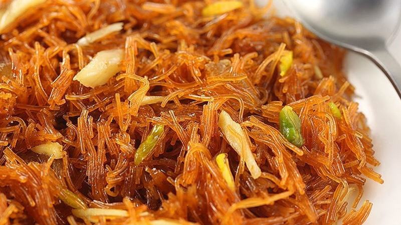 Made of semolina flour and fine wheat flour, vermicelli is mainly used in desserts across the country. Photo: Creative Commons
