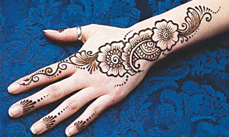 Eid The Changing Colours Of Mehndi Newspaper Dawn Com
