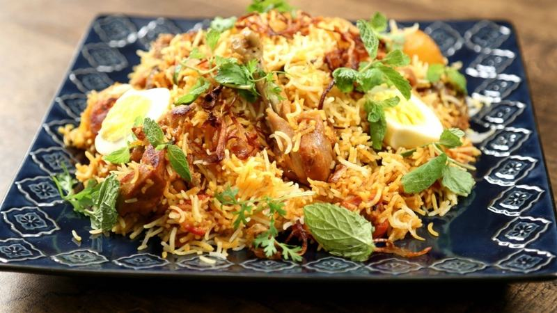 Satisfy the cravings ─ but go easy on the biryani!