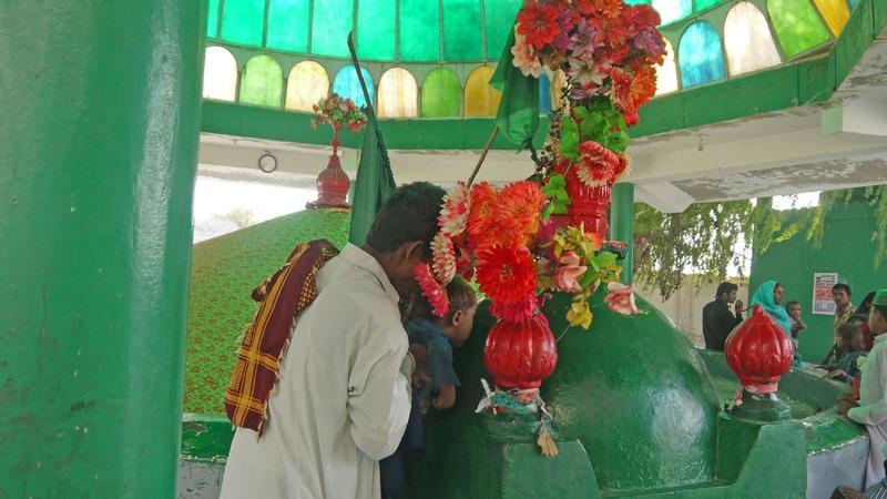 The shrine of Channan Pir