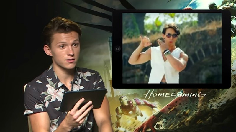 So it's official. We need Tom Holland to make an appearance in a desi flick now, please!
