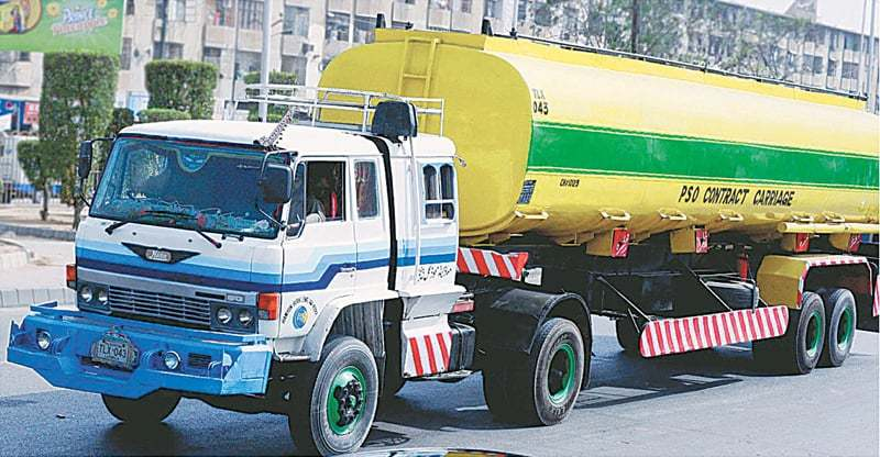 An old-design oil tanker is seen in this file photo.