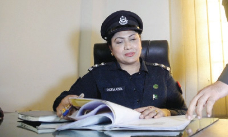 First female SHO in Peshawar assumes charge