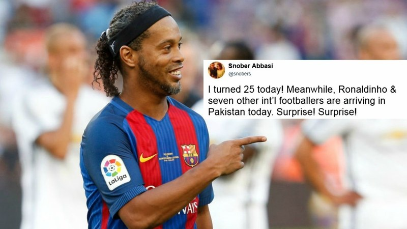 Pakistani footballers excited to play with their idols