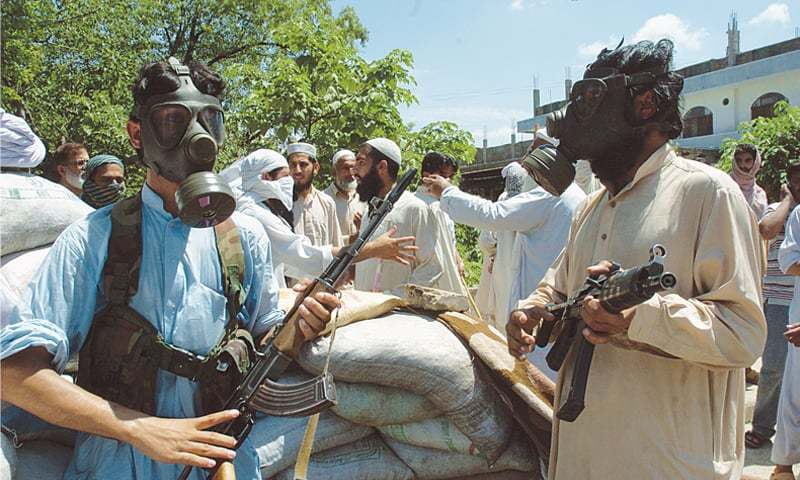 Prior to the army action against Lal Masjid, militants associated with the mosque displayed their firepower in a bid to intimidate the administration | Tanvir Shahzad/White Star