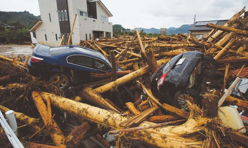 Japan floods death toll rises to 18