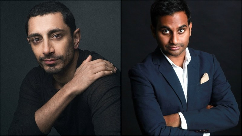 While this is the first time Ahmed (L) has received an Emmy nod, Ansari (R) already has one Emmy from last year