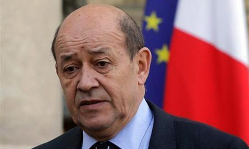 "French foreign minister says that ""France should be a facilitator in the mediation"". - File"