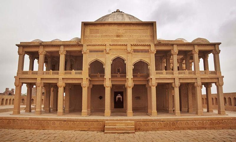 The tomb of Mirza Essa Tur Khan