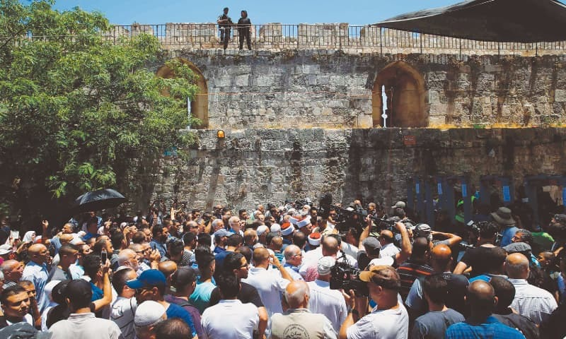 Jew Detector: Israel Reopens Al Aqsa Mosque, But Palestinians Refuse To