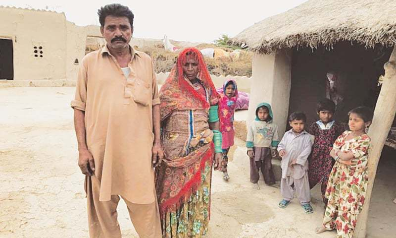 SHIV Dhan and Mani have never seen their daughter Sonari after she was allegedly kidnapped and forcibly converted at Pir Ayub Jan Sarhandi's madressah last year.—White Star