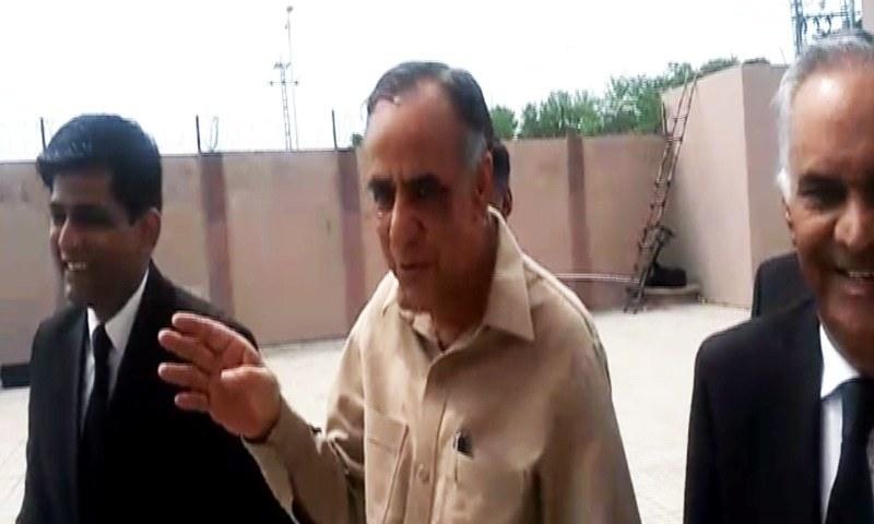 چیئرمین ایس ای سی پی ظفر حجازی کی 21 جولائی تک ضمانت قبل از گرفتاری منظور کی  گئی—فوٹو: ڈان نیوز