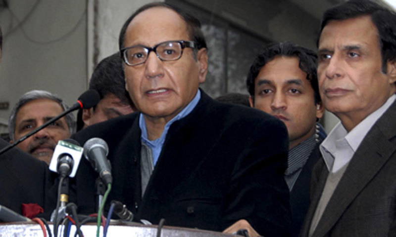 PML-Q chief Chaudhry Shujaat Hussain. — File photo