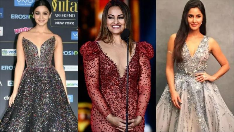 Shoutout to Sonakshi Sinha for slaying at this year's green carpet. Nargis Fakhri and Katrina Kaif? Not so much.