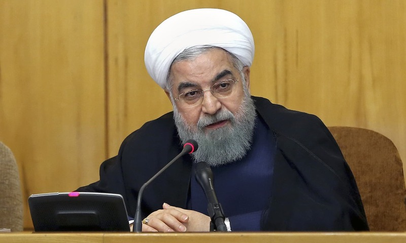 Iran's president threatens response to new US sanctions