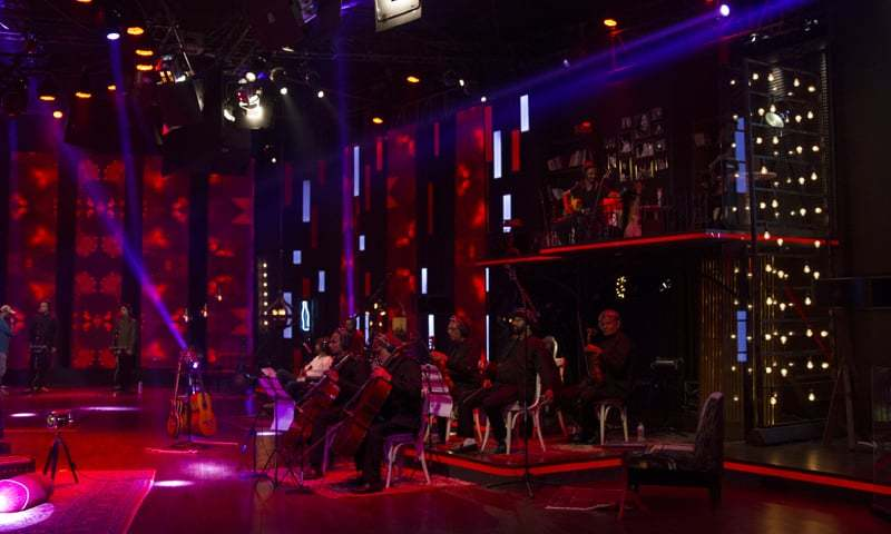 The Coke Studio house band