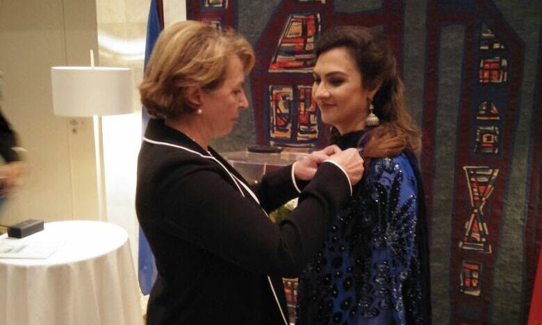 Marvi Memon was awarded  the French National Order of Merit on July 21 — Twitter