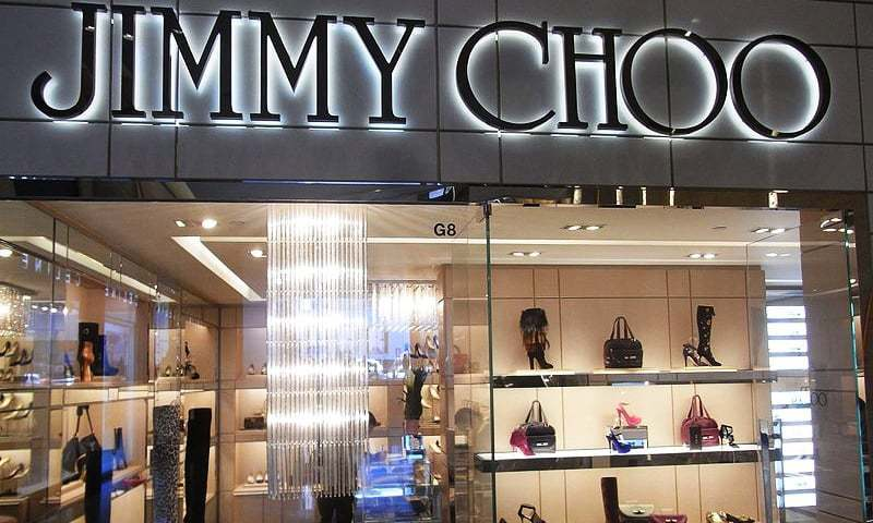 A Jimmy Choo store in Hong Kong. Photo courtesy: Wikimedia commons