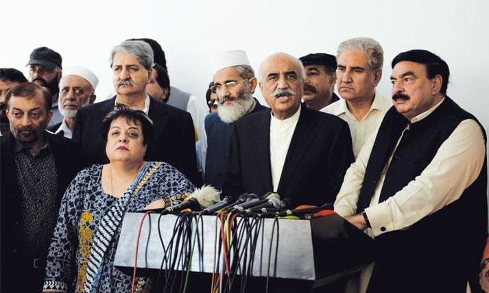 Opposition parties fail to form consensus on joint candidate