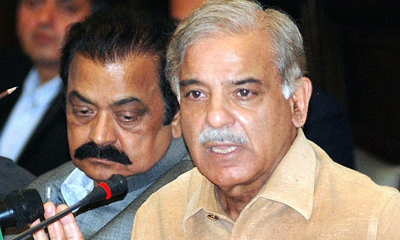 Punjab Chief Minister Shahbaz Sharif is likely to be the new PM.— APP/File