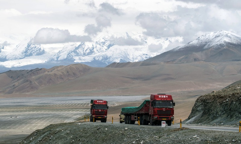 The China-Pakistan Friendship Highway runs over 1,300 kilometres from the far western Chinese city of Kashgar through the world's highest mountain pass and across the border. —AFP