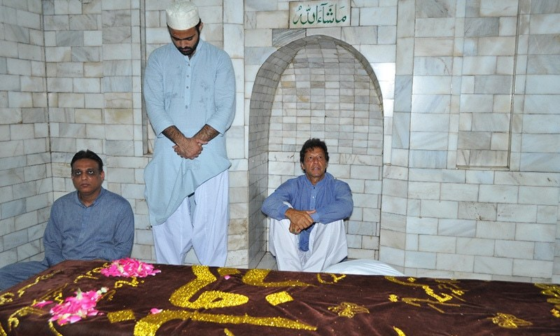 Imran Khan has been a regular visitor to Pakpattan for the last two years. The visits, however, are kept private. -Photo by author