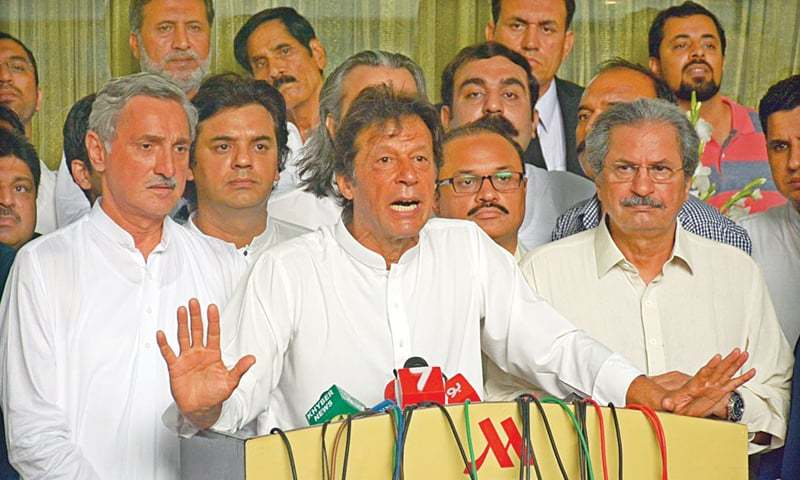 Foreign funding case: ECP serves show cause notice on Imran Khan