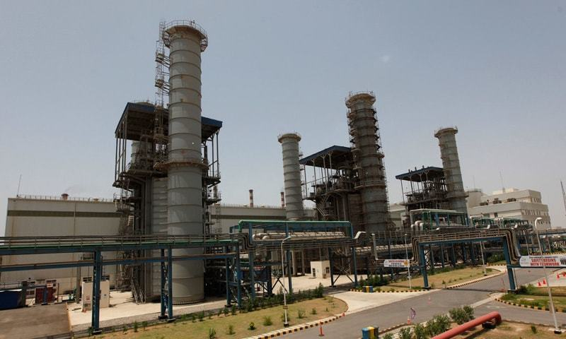 A view of K-Electric's Bin Qasim Power Station. Higher self-generation improved K-Electric's gross profit in 2015-16, but fourth-quarter profit fell by 17pc compared to last year.—File photo