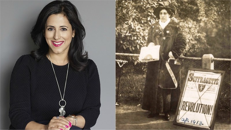 The biographer delves deep into uncovering the life of Sophia Duleep Singh, who went on to become a  a steely suffragist