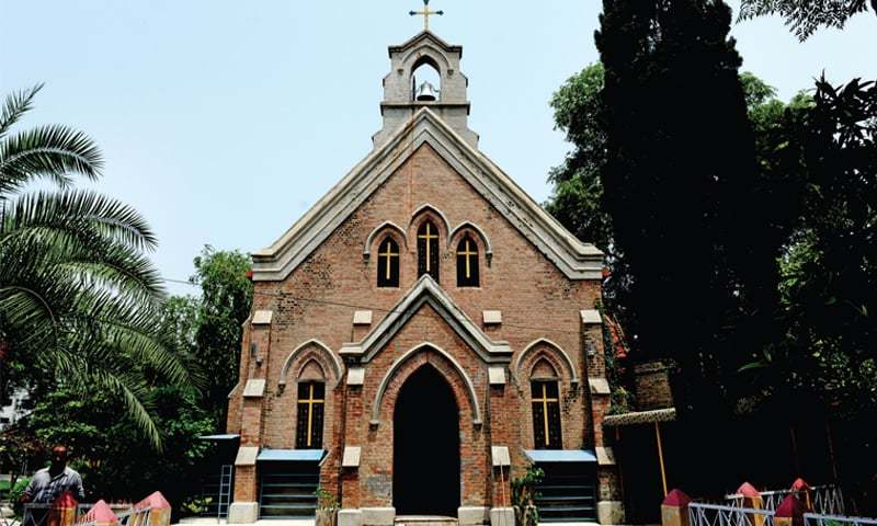 The 125-year-old Sacred Heart Church in Westridge, near the military barracks and established for British officers before the partition of India in 1947.