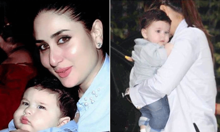 Taimur steals the show at Soha Ali Khan's baby shower (See pics)