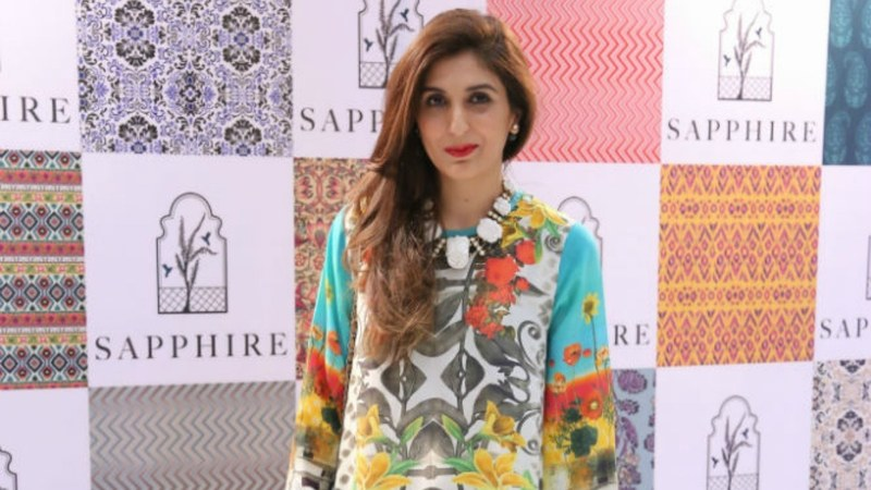 Khadijah Shah at the launch of Sapphire in December 2014